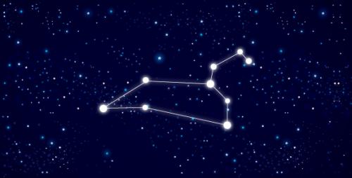 leao constelação